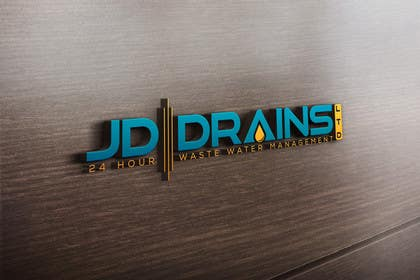 #316 for Design a Logo for JD DRAINS LTD by Moon1990