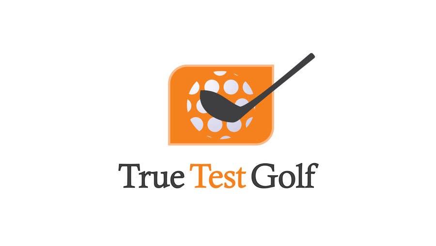 Penyertaan Peraduan #                                        85                                      untuk                                         TrueTestGolf Logo