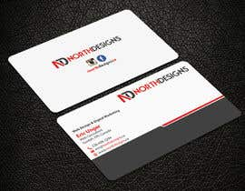#6 for Redesign Business Card by noorpiash