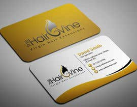 #9 for The Hair Vine needs Business Cards by smartghart