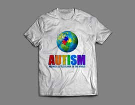 #19 for Autism World T Shirt by fesiiqbal