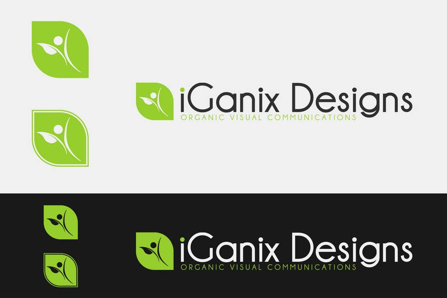 Kilpailutyö #203 kilpailussa Logo Design for eGanic Designs