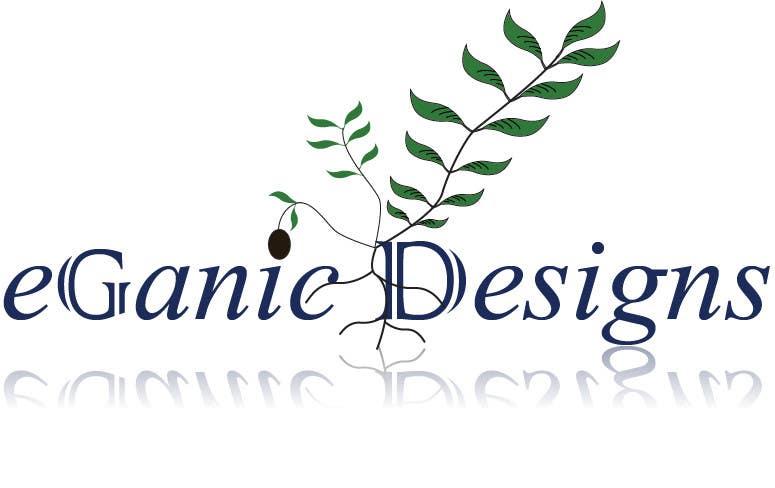 Penyertaan Peraduan #107 untuk Logo Design for eGanic Designs