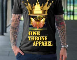 #41 for T-shirt design -  reign from heaven by juthi1357