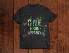 #28 for Design a Logo (ONE Throne Apparel #2) by vivianfreites