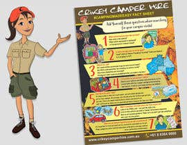 #16 for Design an informational flyer with illustrations for an Australian camper rental company by reddmac