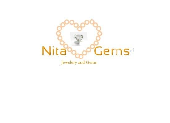 Logo Design for Nita Gems için 552 numaralı Yarışma Girdisi