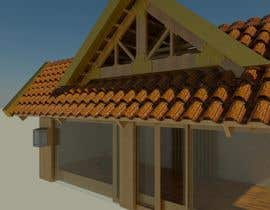 #8 for Japanese/ Chinese Roof Construction for Bicycle shed by jessisolano