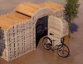 #2 for Japanese/ Chinese Roof Construction for Bicycle shed by khoutoutsmajed