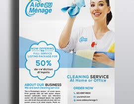 #60 for Create a flyer for a cleaning service by KanisWorld
