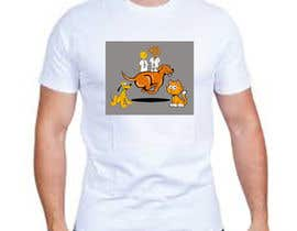#44 for Dogs TShirt by sadeque94sadeque