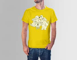 #34 for Dogs TShirt by tabrintina005