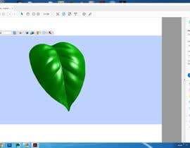 #9 for Create 3D image file of leaf attached (preferably PDF) by alcorn87