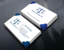 #248 for Design some Legal Business Cards by tusharahammed88