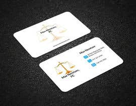 #193 for Design some Legal Business Cards by mdhelaluddin11