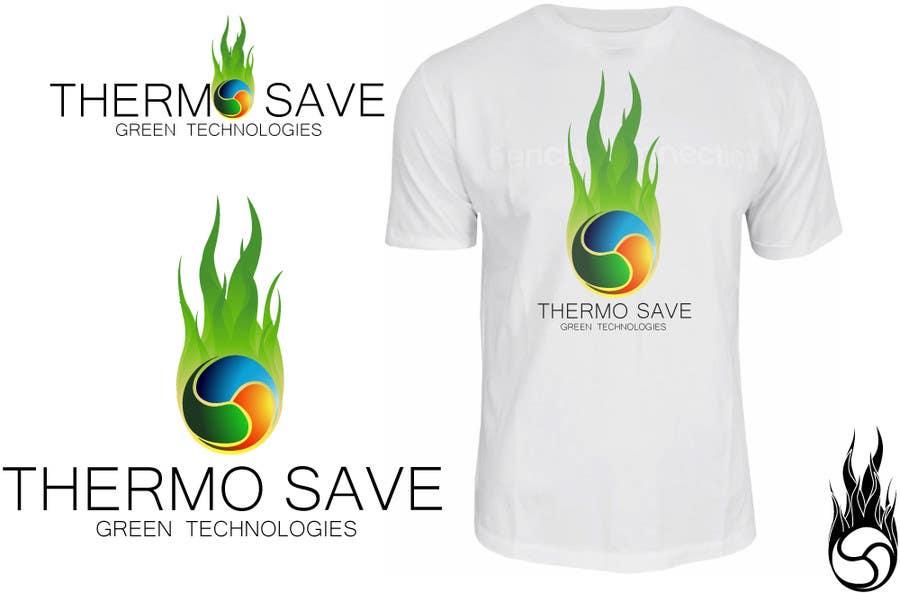 Kilpailutyö #357 kilpailussa Logo Design for THERMOSAVE