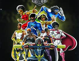 #7 for Super Heroes Poster by boki9091