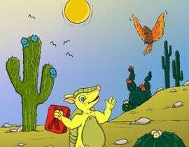 #46 for Illustrate Children's Book: Lemon Armadillo by zitabanyai