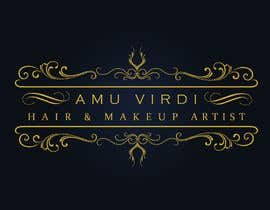 #41 for Hair and makeup by Amu Virdi is our newly established company specialising in Hair and makeup for any occasion. Whether it be bridal, party, fashion or editorial.   Simplicity, elegance, class and a unique logo is key for this design. We want to stand out by mukesh7771