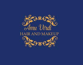 #34 for Hair and makeup by Amu Virdi is our newly established company specialising in Hair and makeup for any occasion. Whether it be bridal, party, fashion or editorial.   Simplicity, elegance, class and a unique logo is key for this design. We want to stand out by salmansharafi60