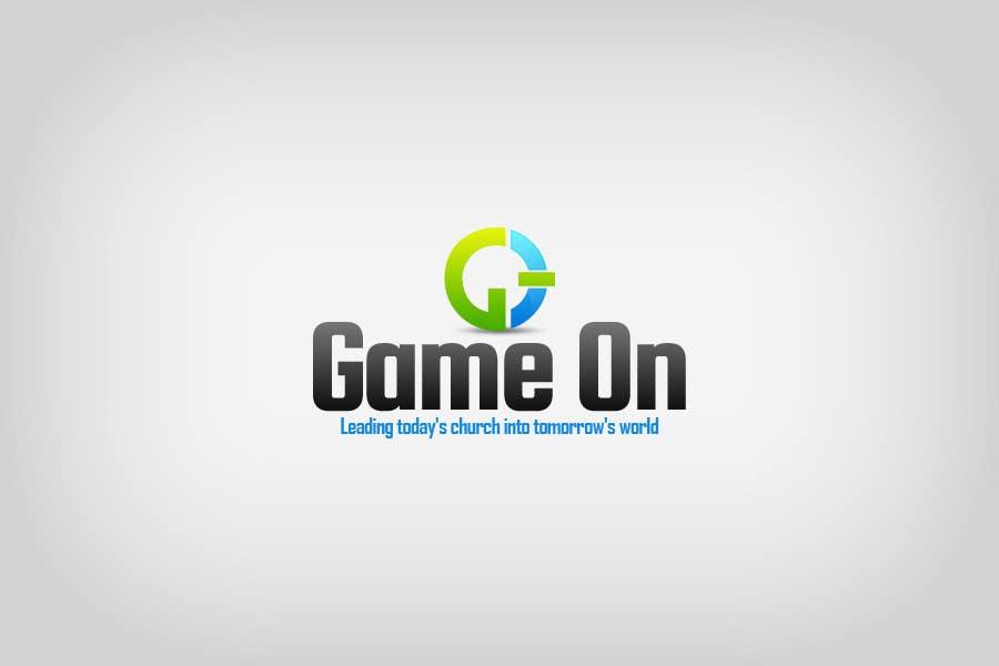Kilpailutyö #205 kilpailussa Logo Design for Game On