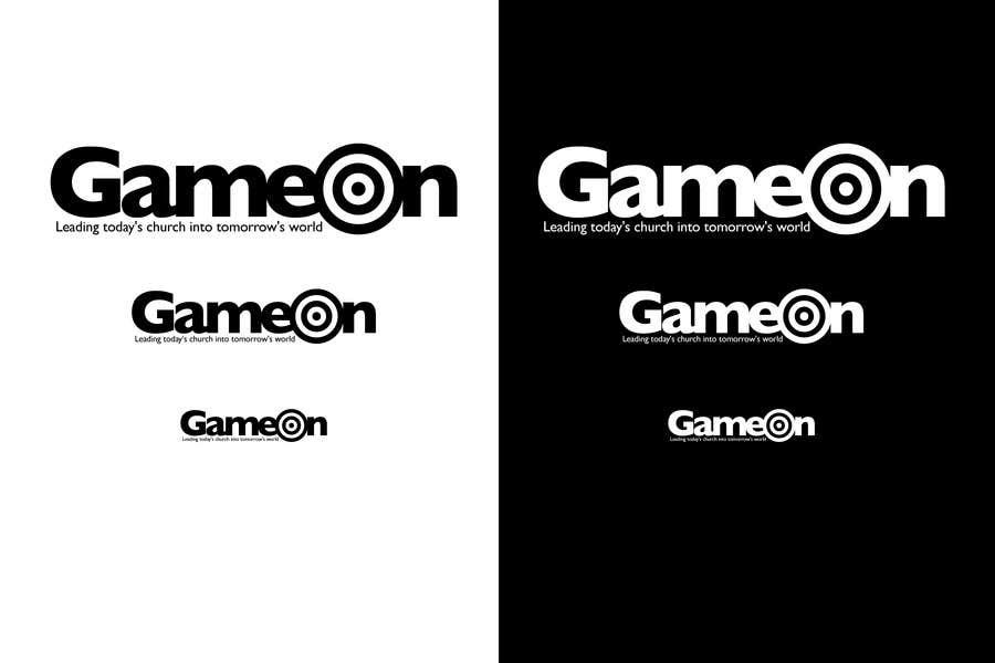 Конкурсная заявка №81 для Logo Design for Game On