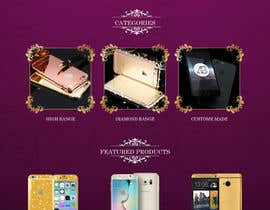 #19 for Design a Website Mockup for Luxury phones by adixsoft