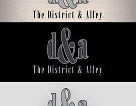 #56 for Design a Logo for online store-The District and Alley by salimwidjojo