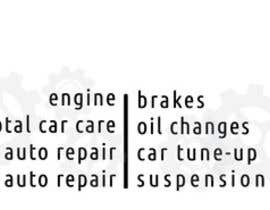 #11 for Auto repair Shop Sign/Banner by sakibalmahmud