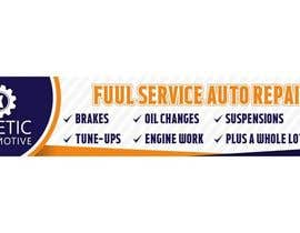 #18 for Auto repair Shop Sign/Banner by Amalbasti