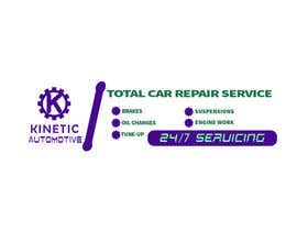 #6 for Auto repair Shop Sign/Banner by sksaeed