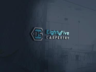 #14 for Design a Logo For EightyFive Carpentry. by RealReflection