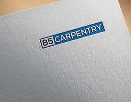 #21 for Design a Logo For EightyFive Carpentry. by designguru144