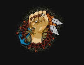 #6 for Create Large Native American Graphic (for t-shirt) by corefreshing