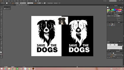 #85 for Create Large 'Save The xxxx' Graphic (for t-shirt) by BigBangPro