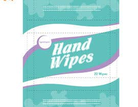 #9 for Create Print and Packaging Designs for Adult Hand Wipes Company by tontonmaboloc