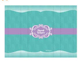 #10 for Create Print and Packaging Designs for Adult Hand Wipes Company by tontonmaboloc