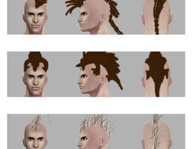 #8 for Illustrate 40 Hairstyles by Syafiqsixx88