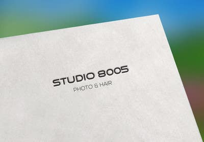 #116 for Logo for - Studio 8005 / Photo & Hair - Look at the example. by Masudrana71