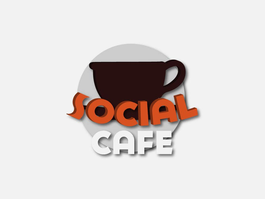 #323 for Logo Design for SocialCafe by SergioLopez