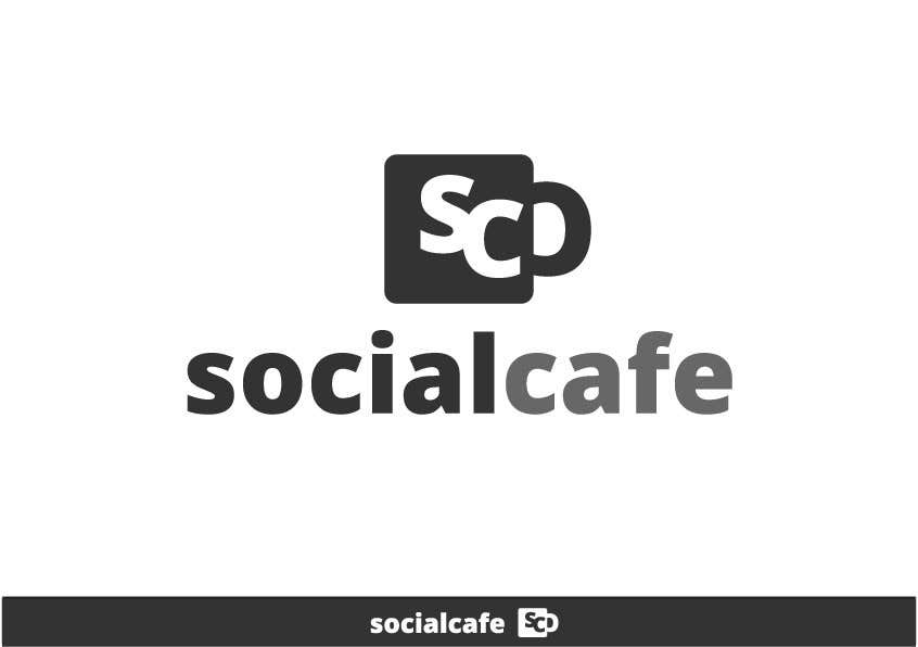 #321 for Logo Design for SocialCafe by xexexdesign