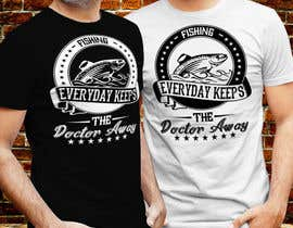 #35 for Design a T-Shirt For Fishing Shop by Milon85