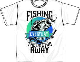 #90 for Design a T-Shirt For Fishing Shop by ppgc101982
