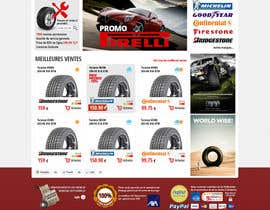 nº 24 pour Website Design for Tyres par hipnotyka