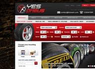 Graphic Design Inscrição do Concurso Nº30 para Website Design for Tyres