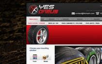 Graphic Design Inscrição do Concurso Nº27 para Website Design for Tyres