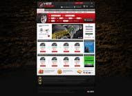 Graphic Design Inscrição do Concurso Nº29 para Website Design for Tyres