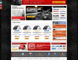 nº 39 pour Website Design for Tyres par dreamsweb