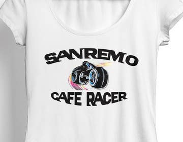 #58 for Sanremo Cafe Racer T shirt Design by choyonbd