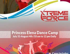 #11 for Dance Camp Flier by Designertapu98
